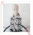 Ladies Acrylic Knit Jacquard Glove Hat Scarf Set