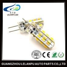 AC 220V 1.5W 150LM Warm White 2835 SMD 24 leds G4 led decoration light