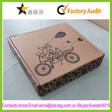 2015 Accept surface print logo custom wholesale shipping boxes