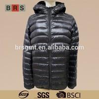OEM winter garment man duck / goose down jacket 2015