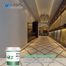 Non-formaldehyde wall texture coating