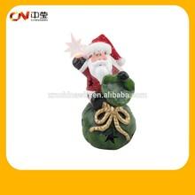 Popular ceramic chinese Christmas decorations