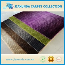 High quality handmade elegant long pile shaggy rugs for living room or hotel