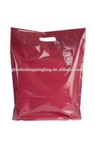 OEM Printed Plastic Bag Cheap Custom Made Die Cut Plastic Carrier Bags