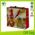 Ropa de moda y zapatos bolsas de papel bolsas de
