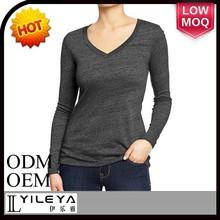 2015 simple ladies blank being human peruvian cotton t shirt china wholesale