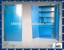 Saving space wardrobe material/metal wardrobe