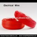 Enduit de pvc fil de cuivre mince fil électrique 1. 5mm/2. 5mm/3mm