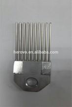 warp knitting spare part karl mayer raschel needle Reed R-10-3-0