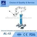 Avanzada al-12 ortopedia de oftalmología y el funcionamiento del microscopio