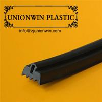 glass door edge strip, customized Rubber / EPDM strip,