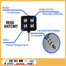 2015 innovation designed led light flash for mobile phone,rechargeable flashlight