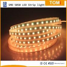 Best Led Lighting Factory 12V/24V warm white Led Strip Light SMD5050 IP67 Flexible light