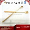Barato personal masajeador de bambú telescópica back scratcher ventas al por mayor con diseño del cliente