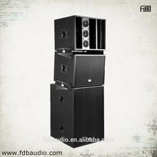 LT815 Outdoor Speaker System 3-way Full Range Stacking Line Array