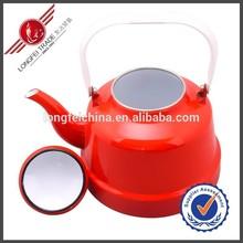 Cheap Wholesale Red Enamel Teapot Antique Enamel Water Pot/Enamel Kettle