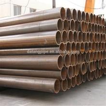 costura recta tubos soldados de acero al carbono tubería api 5l estándar