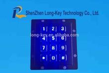 Smart Kiosk outdoor numeric stainless steel metal keypad
