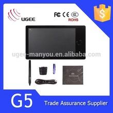UGEE G5 hot keys professional digital graphic tablet digital graphic pen