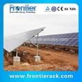 telhado de alumínio do painel solar suportes de montagem