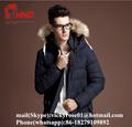 2015 أحدث تصميم أزياء الرجال الساخن بيع القطن-- الملابس المحشوة للبيع