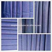 raw chambray jean fabric per meter for denim shirt or denim skirt