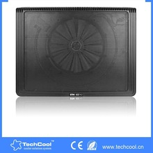 15''inch single big LED fan laptop cooling stand with CE Rohs laptop cooler