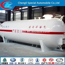 Factory make 80CBM anti corrosioin LPG tankers Full dimension 100CBM used lpg gas tank