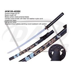 """40.55"""" overall sword katana knife fairing(4KM100-405BK)"""