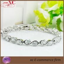 White Gold Filled 14k Gold Snake Girls' New Designer Bracelet