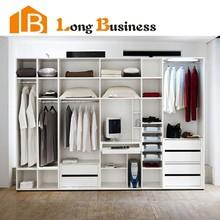 LB-DD3019 Modern cheap open design wardrobe closet
