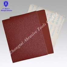 Red abrasive emery cloth Sheet 9*11 inch