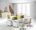 Blanc bureau/panneau mdf meubles