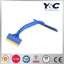 two blade window squeegee,window cleaning blade,double sides squeegee (16/9cm)