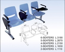 Factory direct sales plastic waiting chair for public waiting