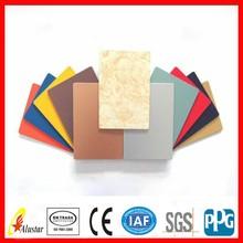 PVDF/PE aluminium sandwich composite panel