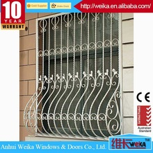Hot-Selling high quality low price decorative wrought iron window grill