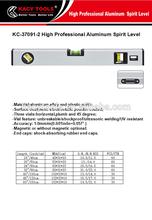 buen precio magnético de la construcción de aluminio nivel de burbuja de herramientas de medición