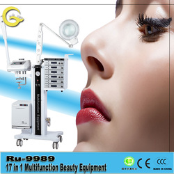 2015 Latest Style High Quality Facial Steamer Skin Care Device 17 in 1 Multifunctional Beauty Equipment
