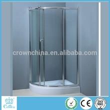 New design chrome aluminum portable shower room