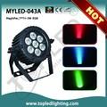 Popular IR Mini Etapa de iluminación de Disco Láser remoto RGB 7x3w
