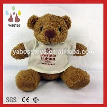 Custom cute plush personal teddy bears