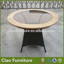 100% handmade used outdoor garden furniture rattan coffee table