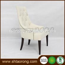 Real de madera silla de banquetes con la decoración de las uñas ch-327
