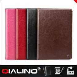 QIALINO Wholesale Customized Logo Printed For Ipad Mini Bear Case Cover