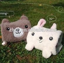 Lovely Multifunctional Cartoon Cute Little Animal Plush Carpet Blanket