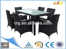 Most Popular European Standard Fiber Dining Table Set