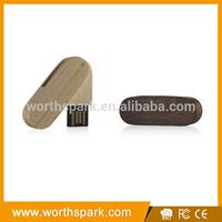 engraving logo wood usb flash drive