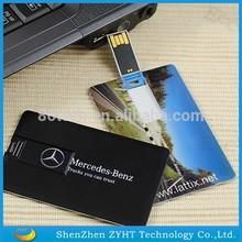 blank usb card 2.0 custom logo id card usb flash