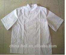 Executive chef's short sleeves uniform